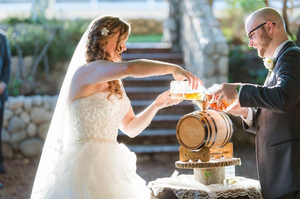 Whiskey Blending Unity Ceremony At Wedding Photo Chelsea Nicole Wedding Unity Unity Ceremony May Weddings