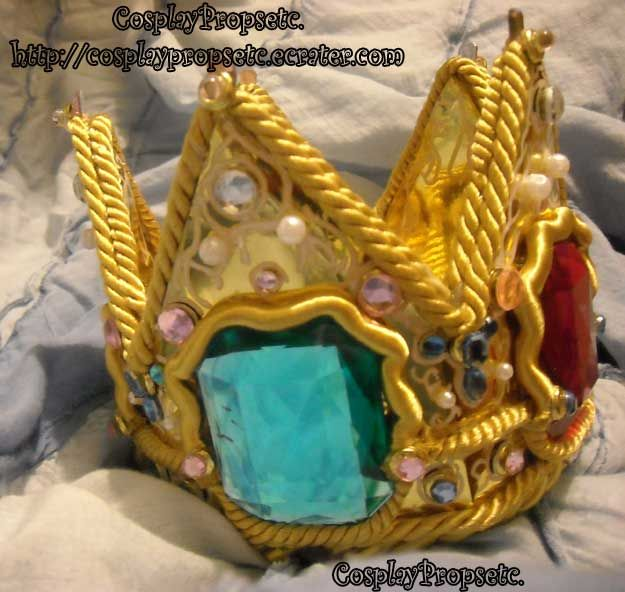 Princess Peach SSBB CrownII by CosplayPropsEtc.deviantart.com on @DeviantArt