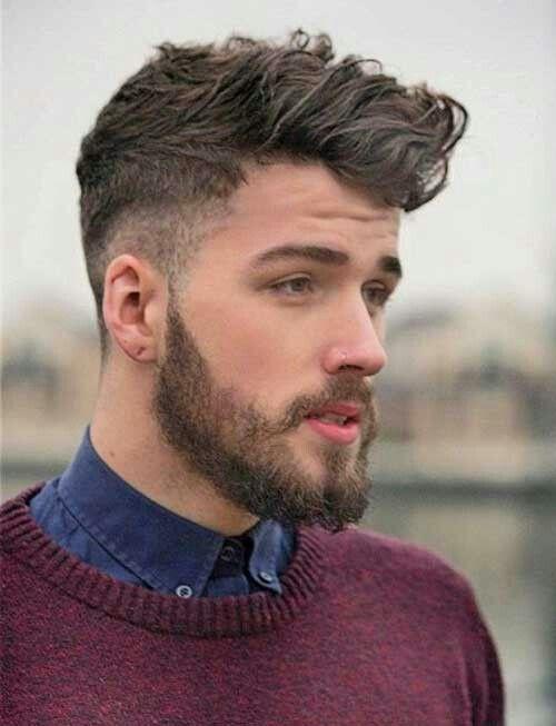 Mens Hair Slight Fade Haircuts For Men Mens Hairstyles Beard Styles For Men