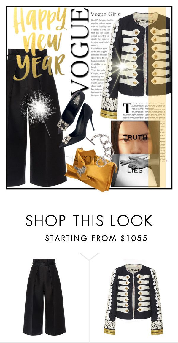 """""""HAPPY NEW YEAR TO ALL!!!!"""" by mariapia65 ❤ liked on Polyvore featuring Martin Grant, Chanel, Alix of Bohemia and N°21"""