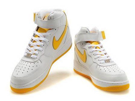 nike air force 1 metà bianco di mais bianco della scarpe femminili