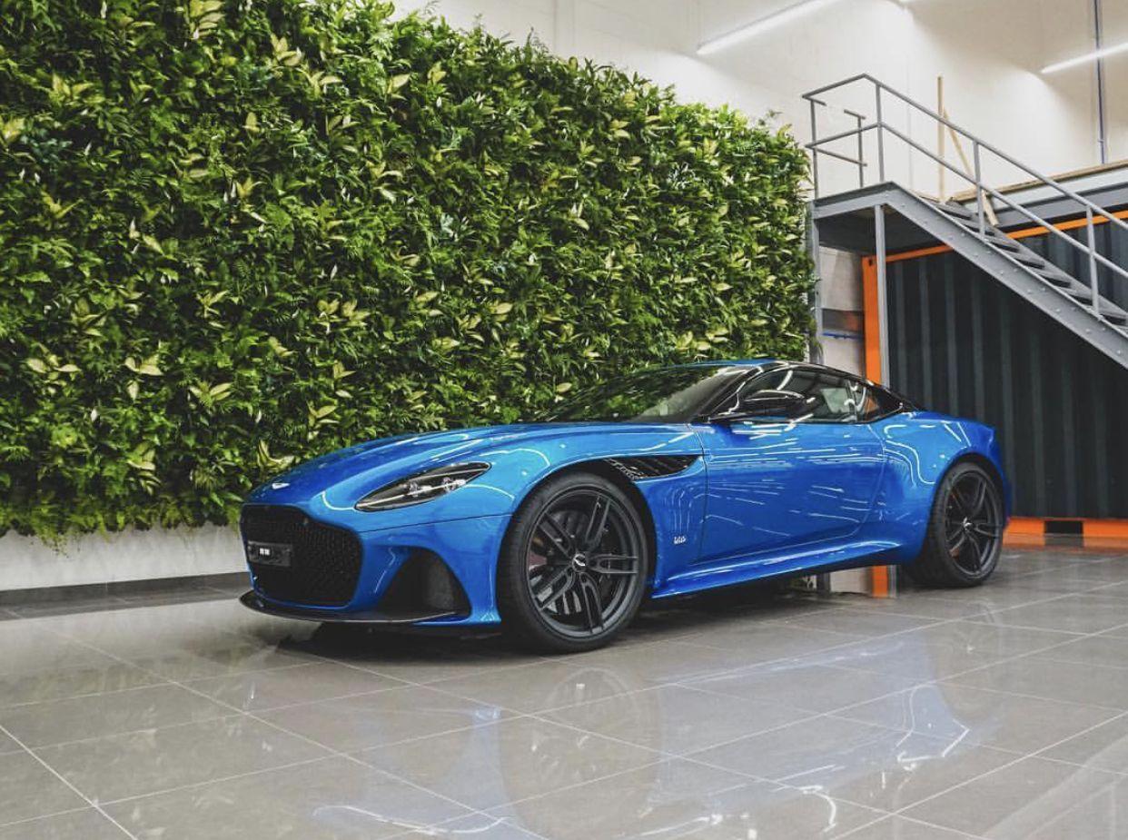 Aston Martin Dbs Superleggera Intense Blue Supercars Gallery