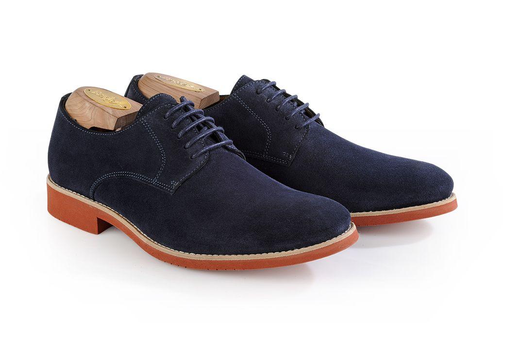 chaussures derby homme bleu. Black Bedroom Furniture Sets. Home Design Ideas
