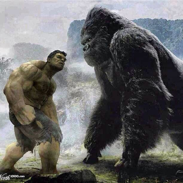 King Kong Vs Hulk Movie Hulk vs king kong | Fi...