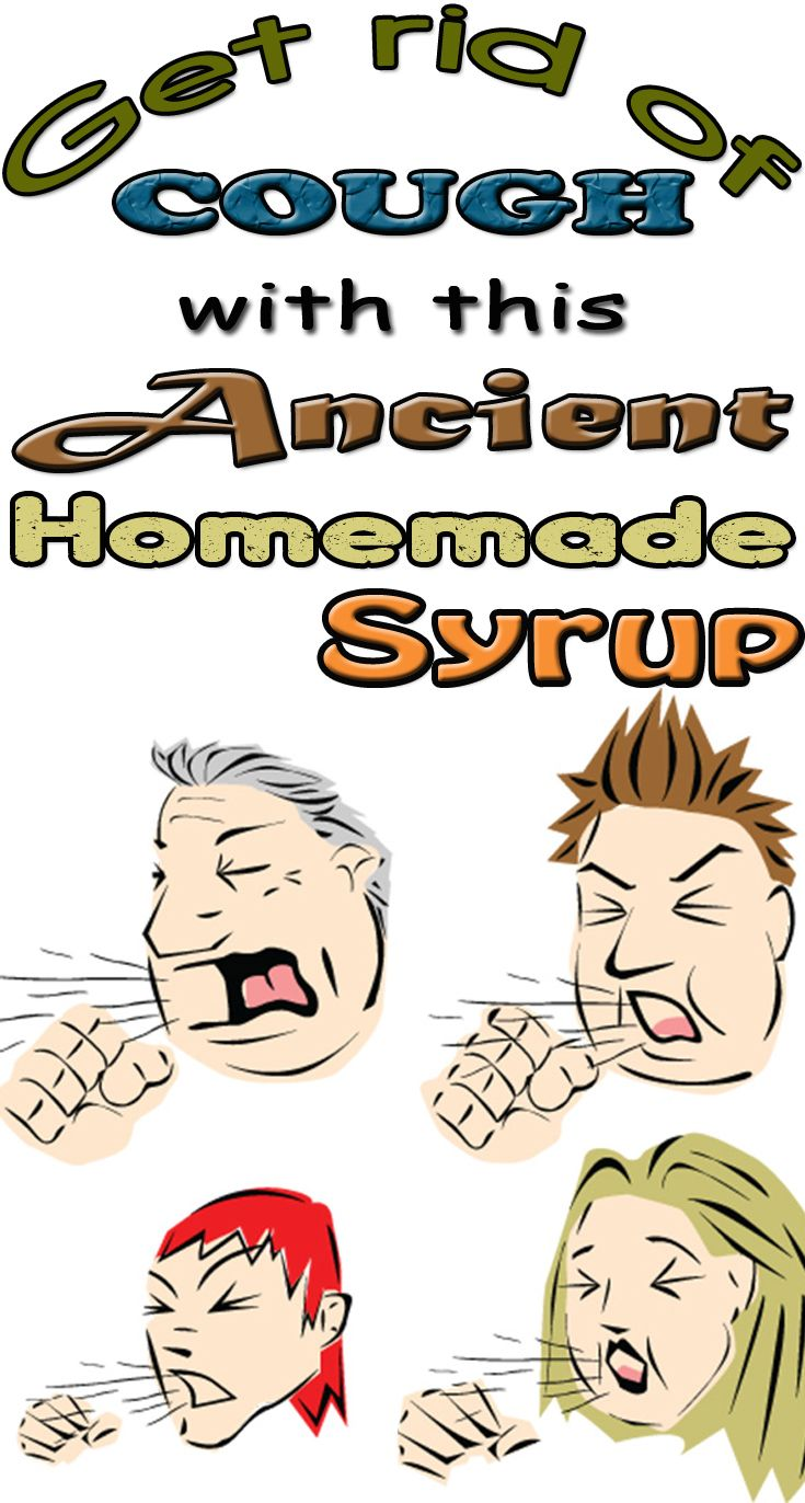 Get rid of cough with this ancient homemade syrup