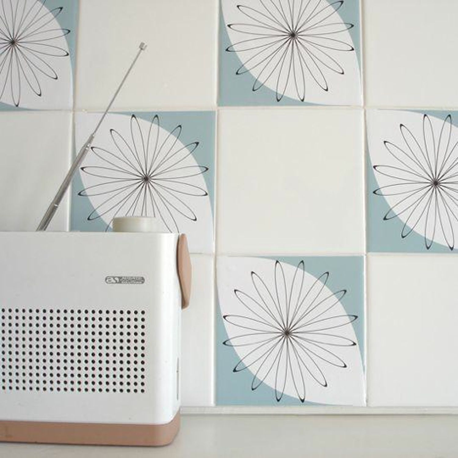 Tile Tattoos from Mibo | Rental kitchen, Tile decals and Apartment ideas