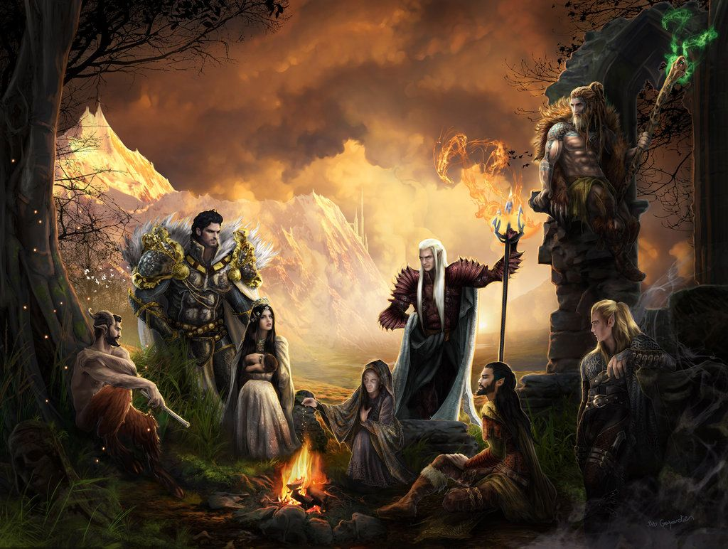 Adventure Party by bobgreyvenstein.deviantart.com on @DeviantArt | Fantasy photo shoot, Adventure party, Art