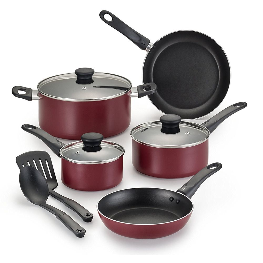 Kitchen Pots And Pans Calphalon Outlet Nonstick Cookware Set Cooking Frying Non Stick Utensils 10 Pc Cookwareset