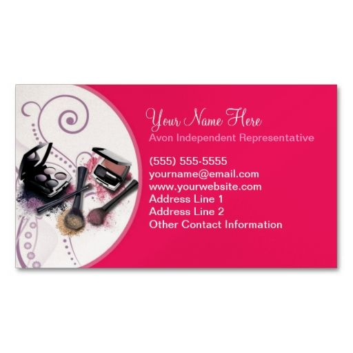 Avon Business Card Template Things To Wear Pinterest Avon - Avon business card template