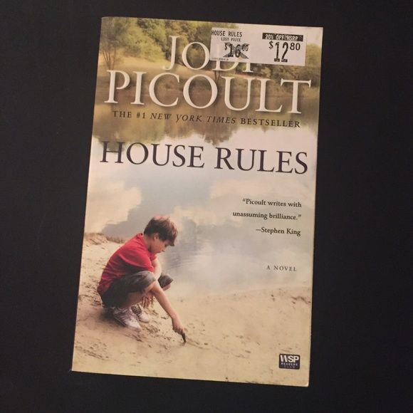 House rules by Jodi picoult Book in like new condition Other