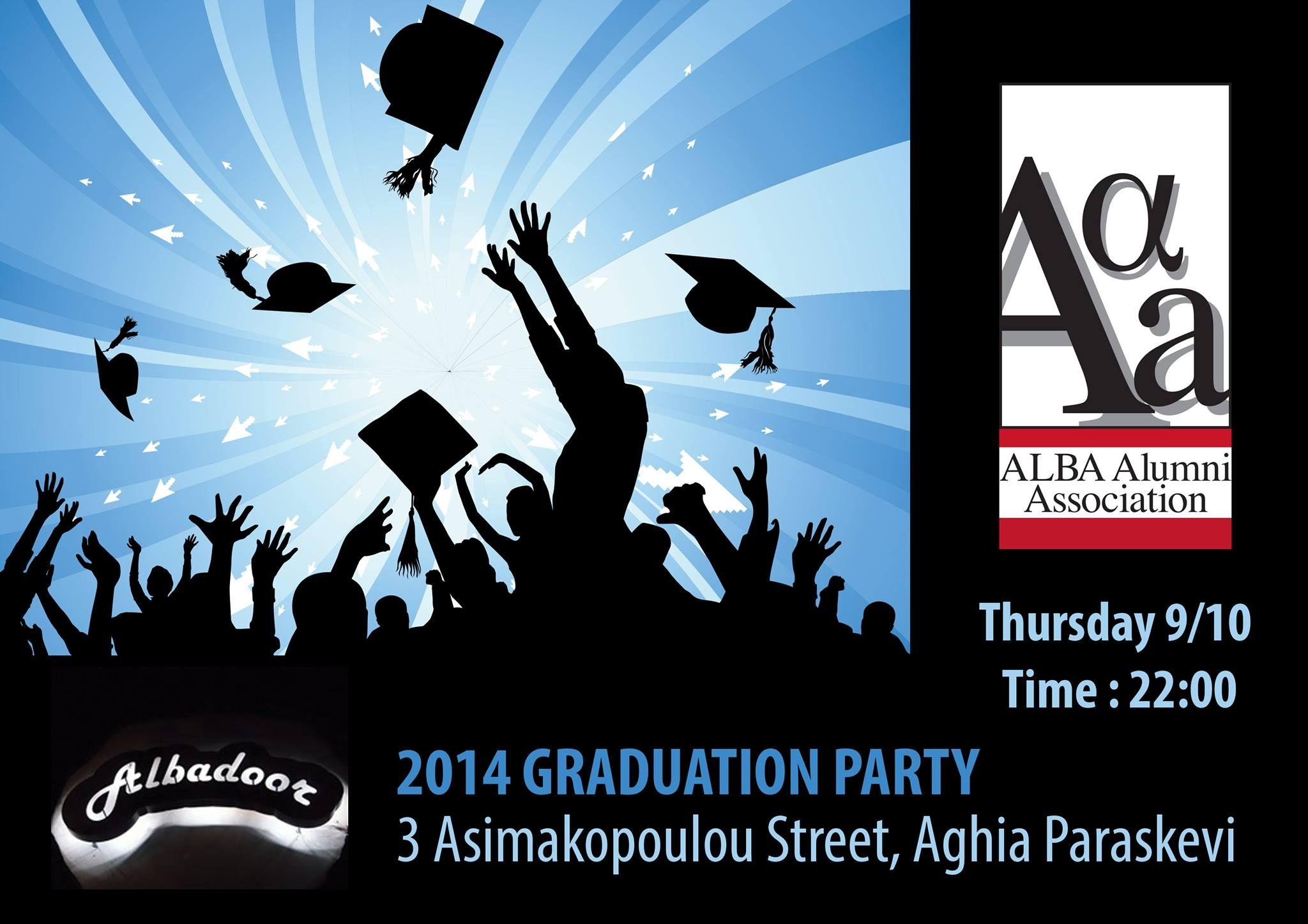 AAA - 2014 GRADUATION PARTY