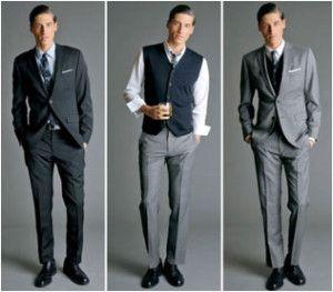 Casual smart dress code man cocktail