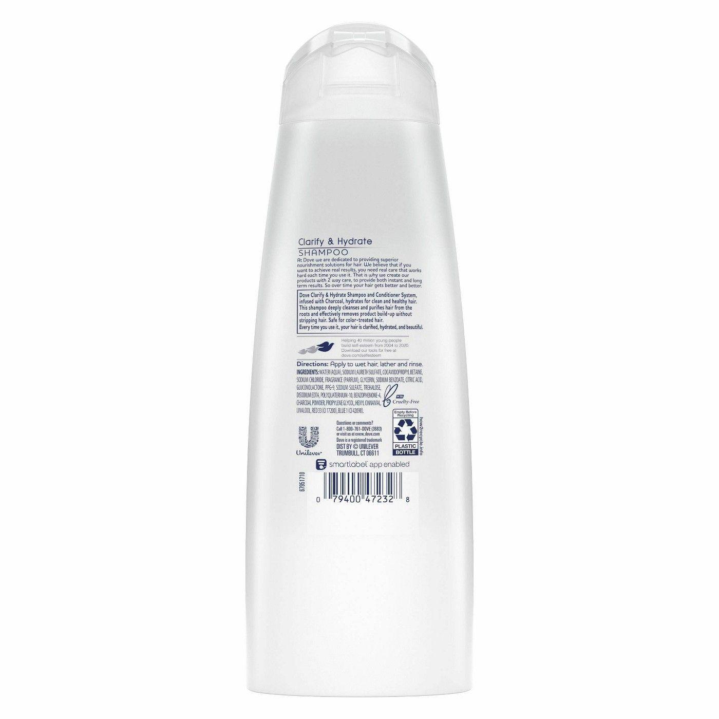 Dove Clarify Charcoal Good Shampoo And Conditioner Paraben Free Conditioner Paraben Free Products