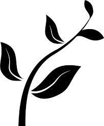 Znalezione obrazy dla zapytania flower black and white vector