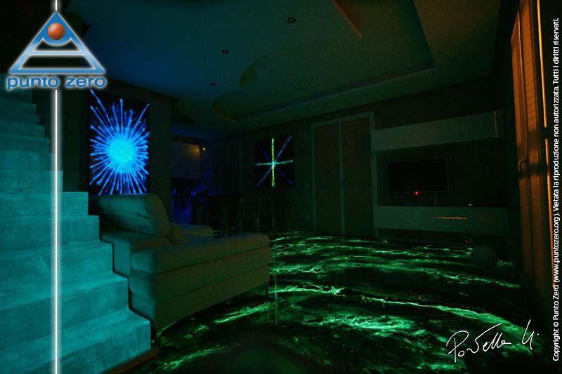 Pavimenti In Resina Luminescenti.La Resina Epossidica La Resina Luminescente Pavimenti In