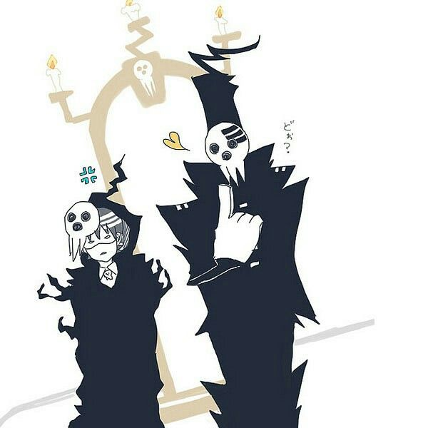 shinigami amp death the kid soul eater soul eater