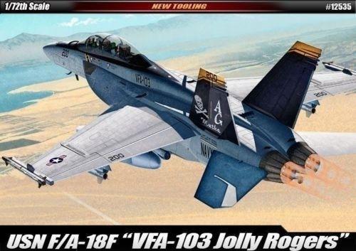 "1:72 F:A-18F USN ""VF-103 JOLLY ROGERS"" - Modelling Kits | Hobbyland"