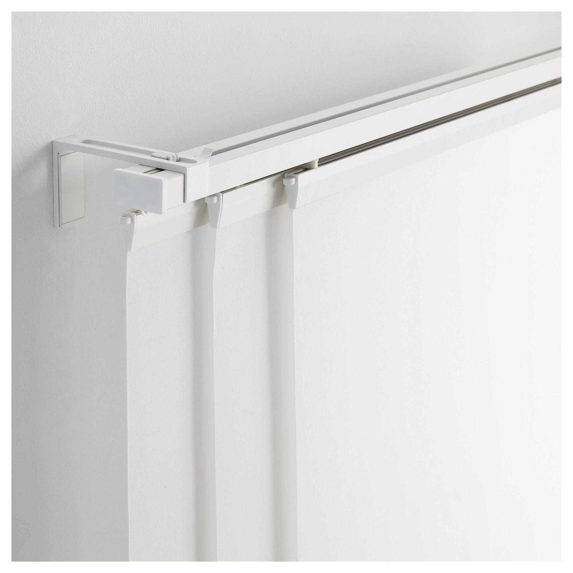 Vidga Rail Pour Rideau Triple Blanc 140 Cm Curtain Rails