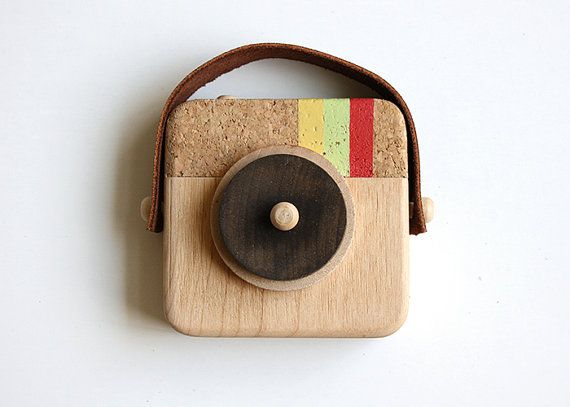 Anagram Wooden Camera Inspired by Instagram