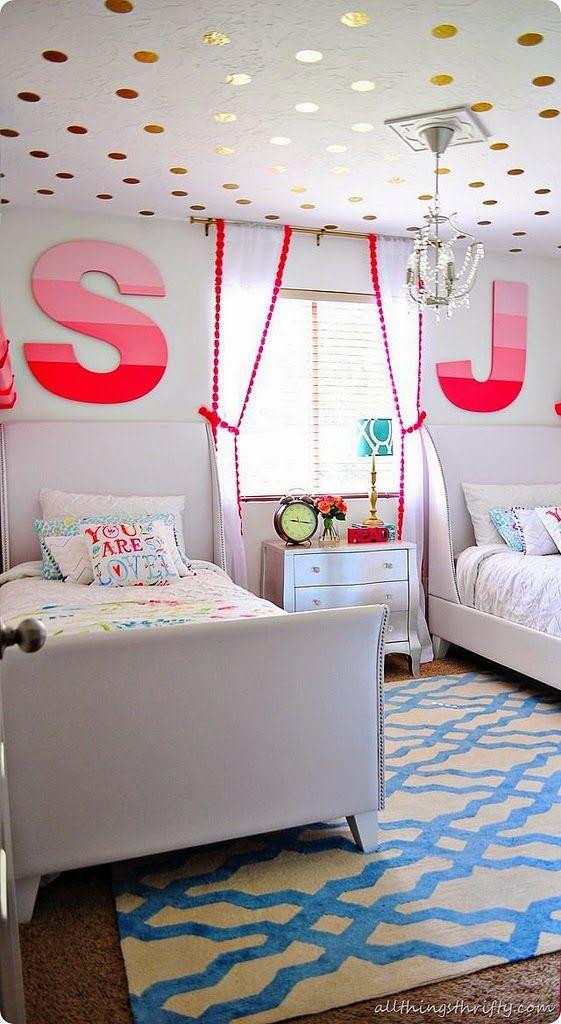 Eclectic Kids Rooms Kinderzimmer Dekor Madchenzimmer Jung Gemeinsames Schlafzimmer
