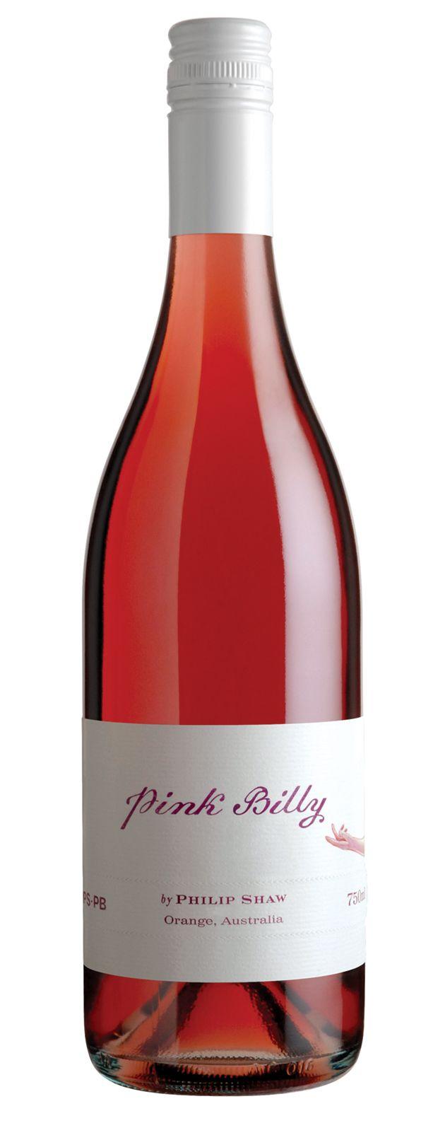 Pink Billy Saignee 2013 Philip Shaw Wines Wine Bottle Wines Rose Wine Bottle