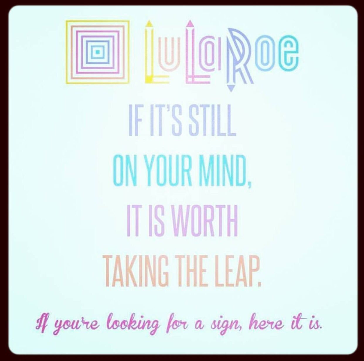 Here's a sign www.lularoejilldomme.com (With images ...