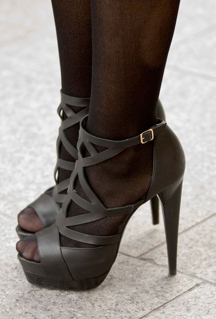 a90d8206153f Stockings + open toe shoes…