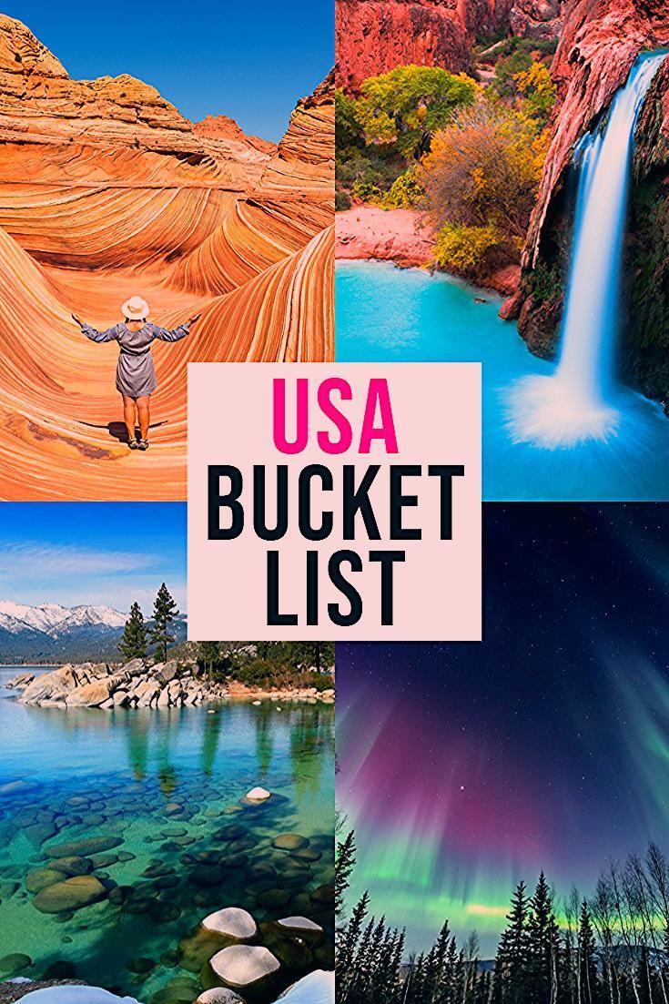 Photo of EPIC USA Bucket List Destinations!
