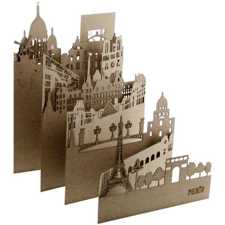 Postales skyline de Pocket Cities
