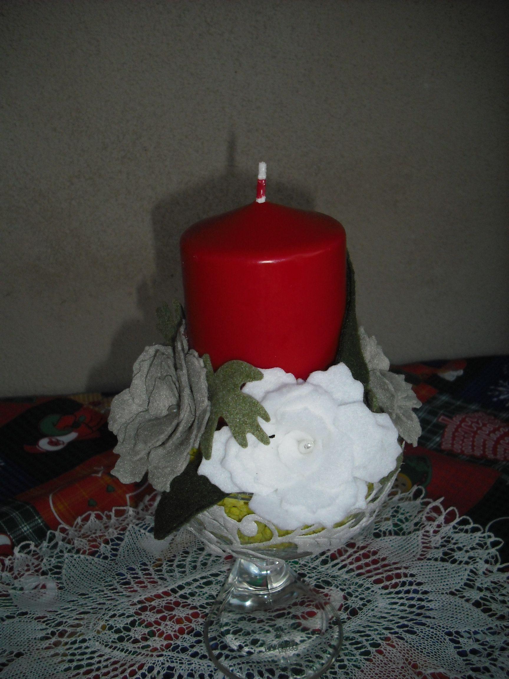 centrotavola natalizio   Centrotavola