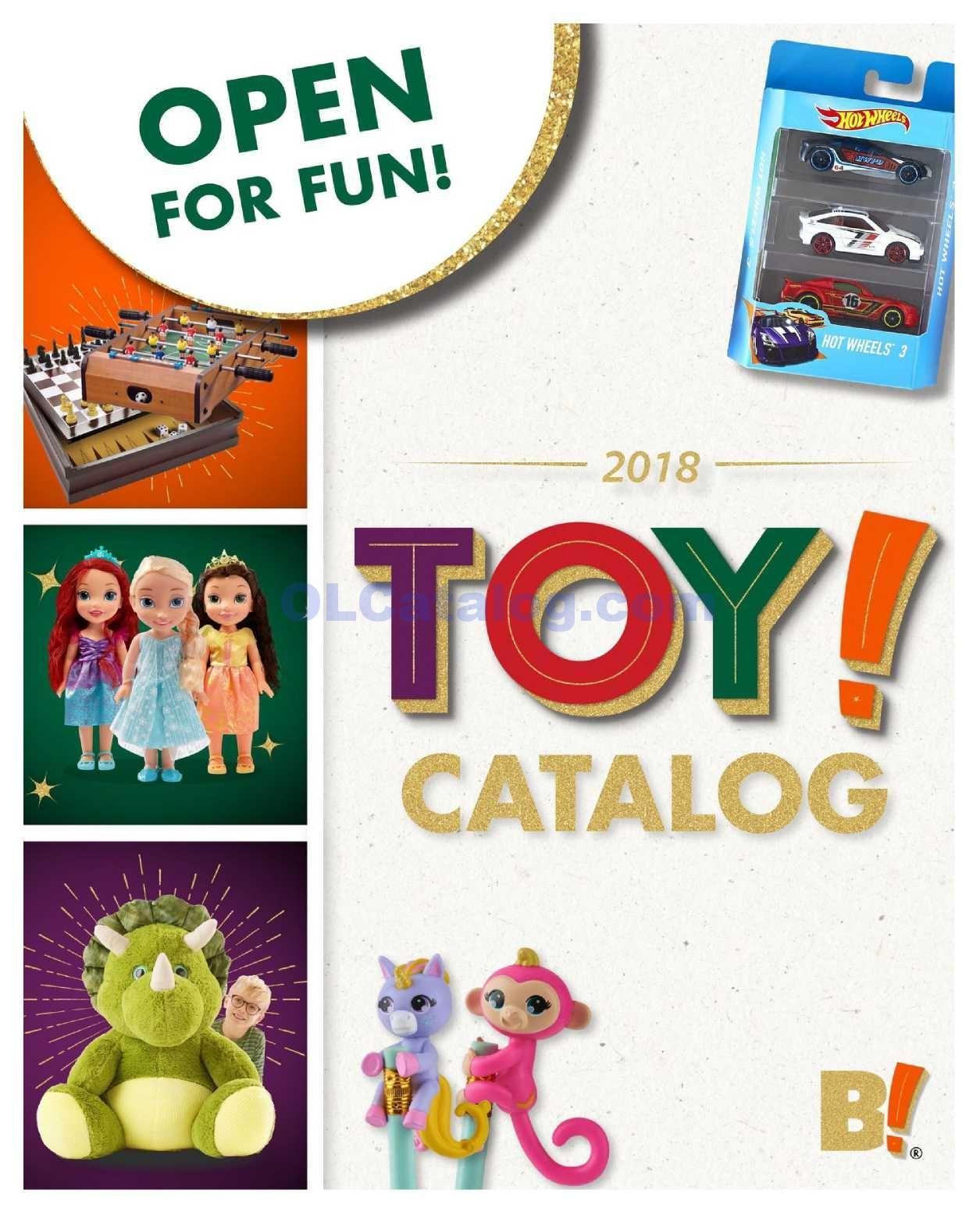 Big Lots Toy Catalog November 2 December 31, 2018. Do