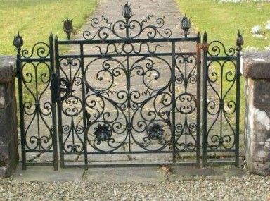 Likable Wrought Iron Drive Gates For Sale And Wrought Iron Fence For Sale Craigslist Kapu