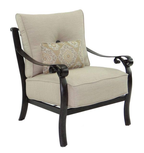 Bellanova Cushioned Lounge Chair Sunbrella cushions