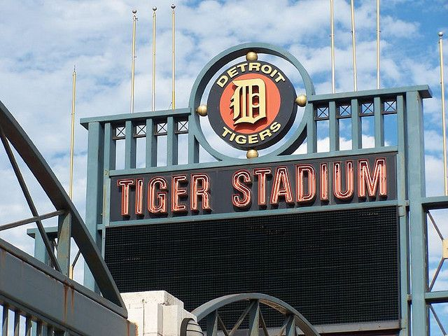 tigers stadium in detroit michigan randommmmm pinterest rh pinterest com