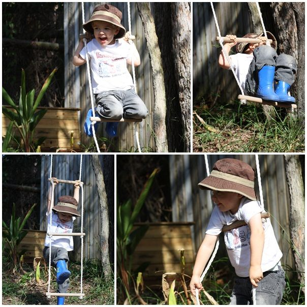 Brilliant article about the awesomeness of a simple rope ladder.