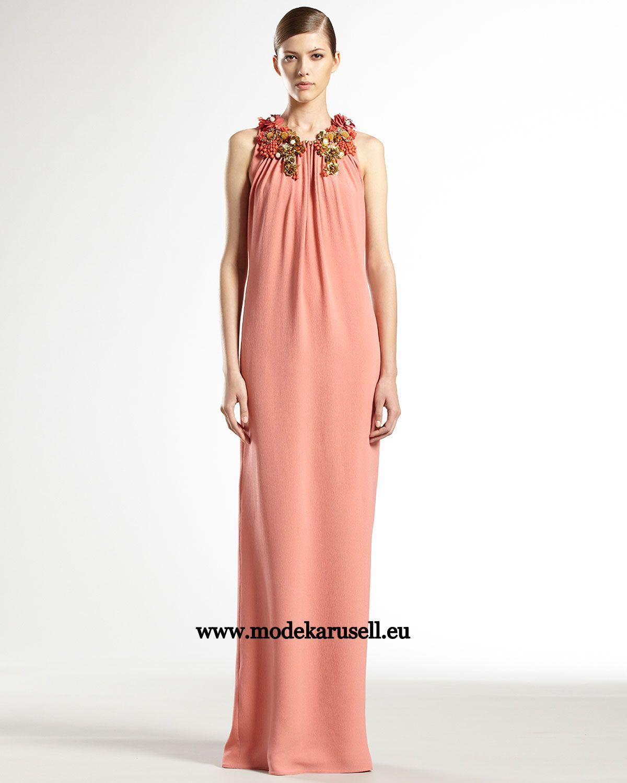 Abendkleid 2013 mit Perlen www.modekarusell.eu | Abendkleider ...