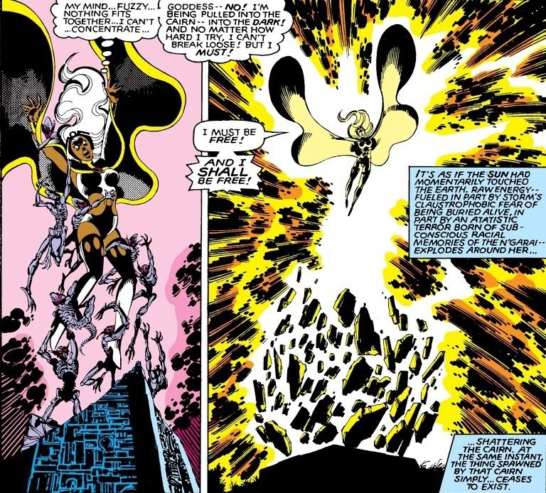 Mutant Sovereignty Random Storm Moments 1 Storm Generated A Flash Jack Kirby Art Kirby Art Mutant