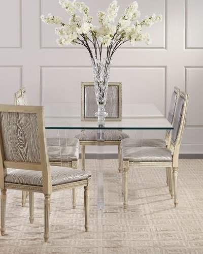 Oris Interlude Home Acrylic Dining Table Dining Table Dining