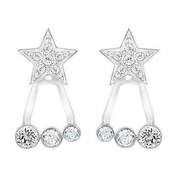 0e5177d67 Duo Star Pierced Earring Jackets | Accessories | Earrings, Swarovski ...