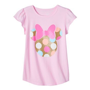 46edbfef9 Disney's Minnie Mouse Rock the Dot Toddler Girl Flutter Tee by Jumping Beans ®