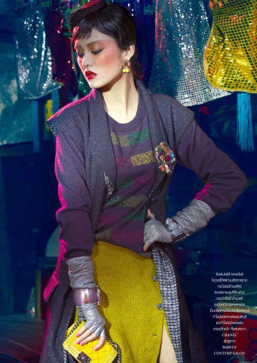 L'Officiel Thailand November 2012 #fashion #LOfficial #Fashion http://www.trendhunter.com/