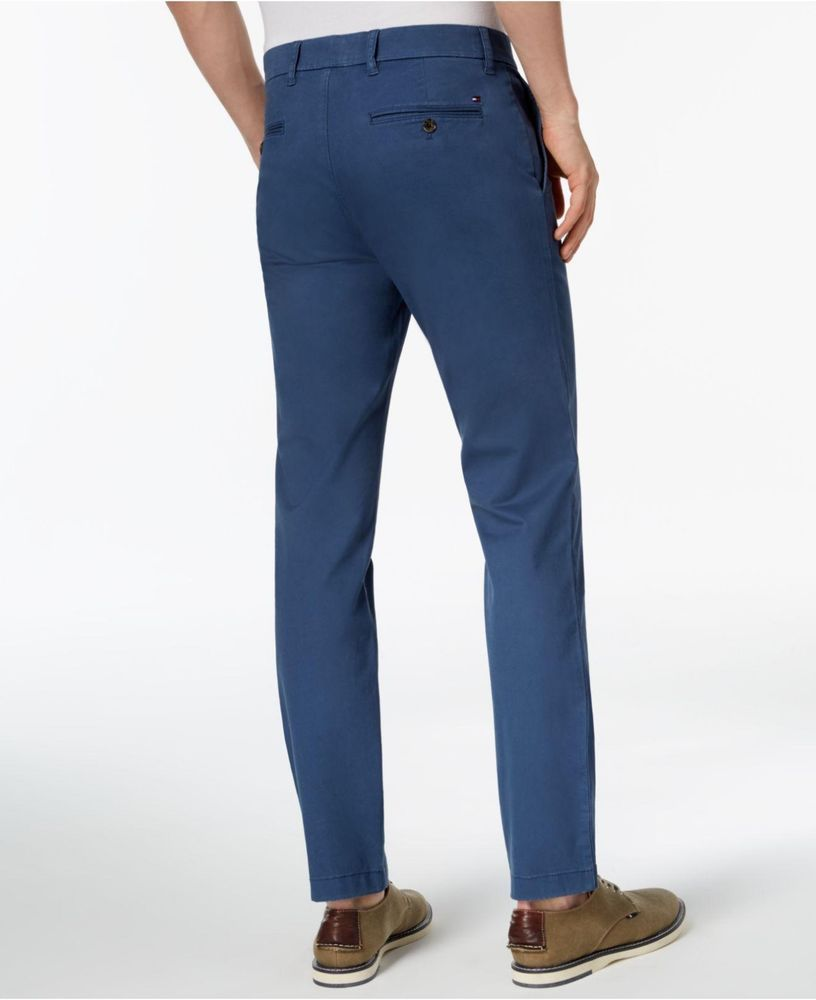 70164793 Tommy Hilfiger Men's Big and Tall Classic Fit Stretch Chino Pants Bayhead  Blue #fashion #clothing #shoes #accessories #mensclothing #pants (ebay link)