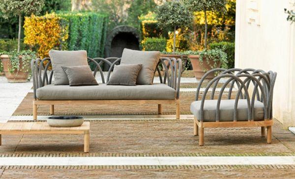 Design » Deko und Möbel Design aus Holz für ein charmantes Ambiente - garten lounge mobel holz