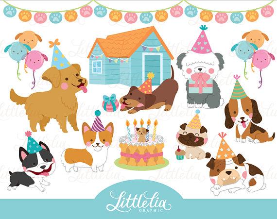 45+ Dog birthday clipart free info