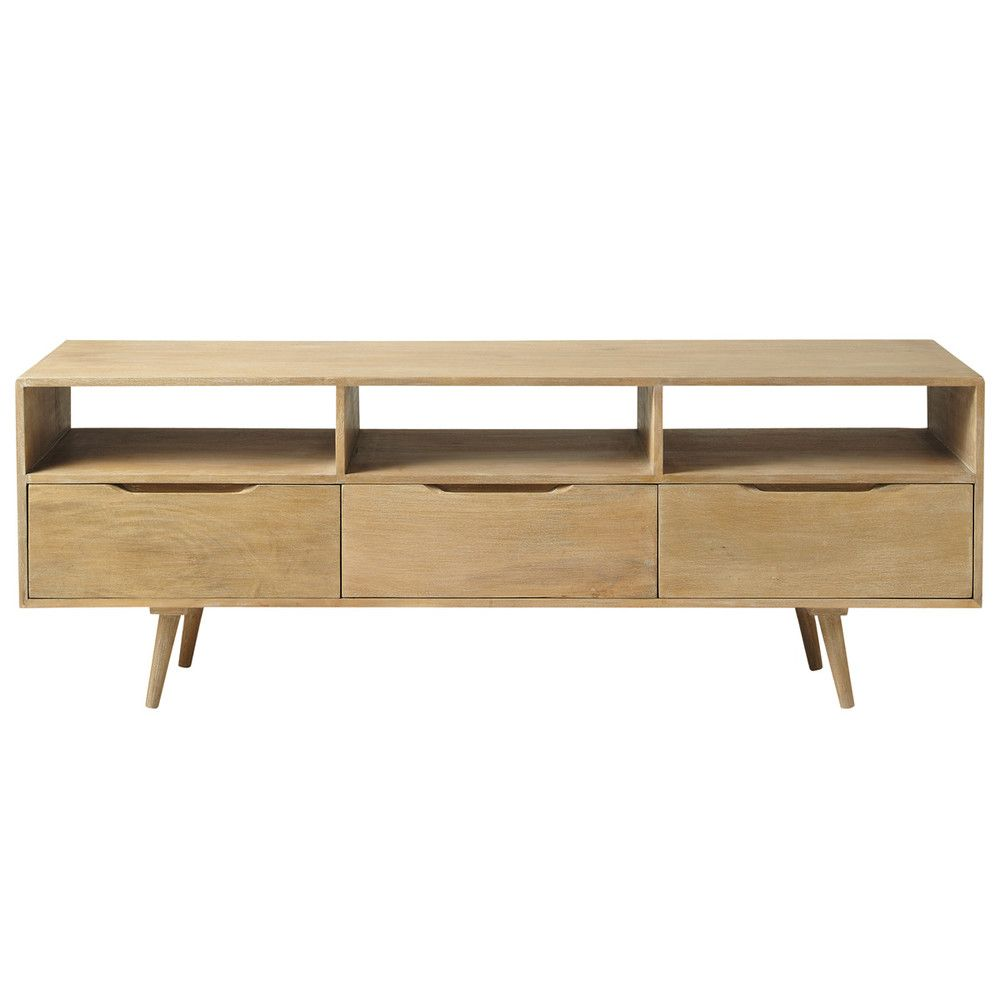 Mango wood vintage TV unit W 165cm | Maisons du Monde | Home Décor