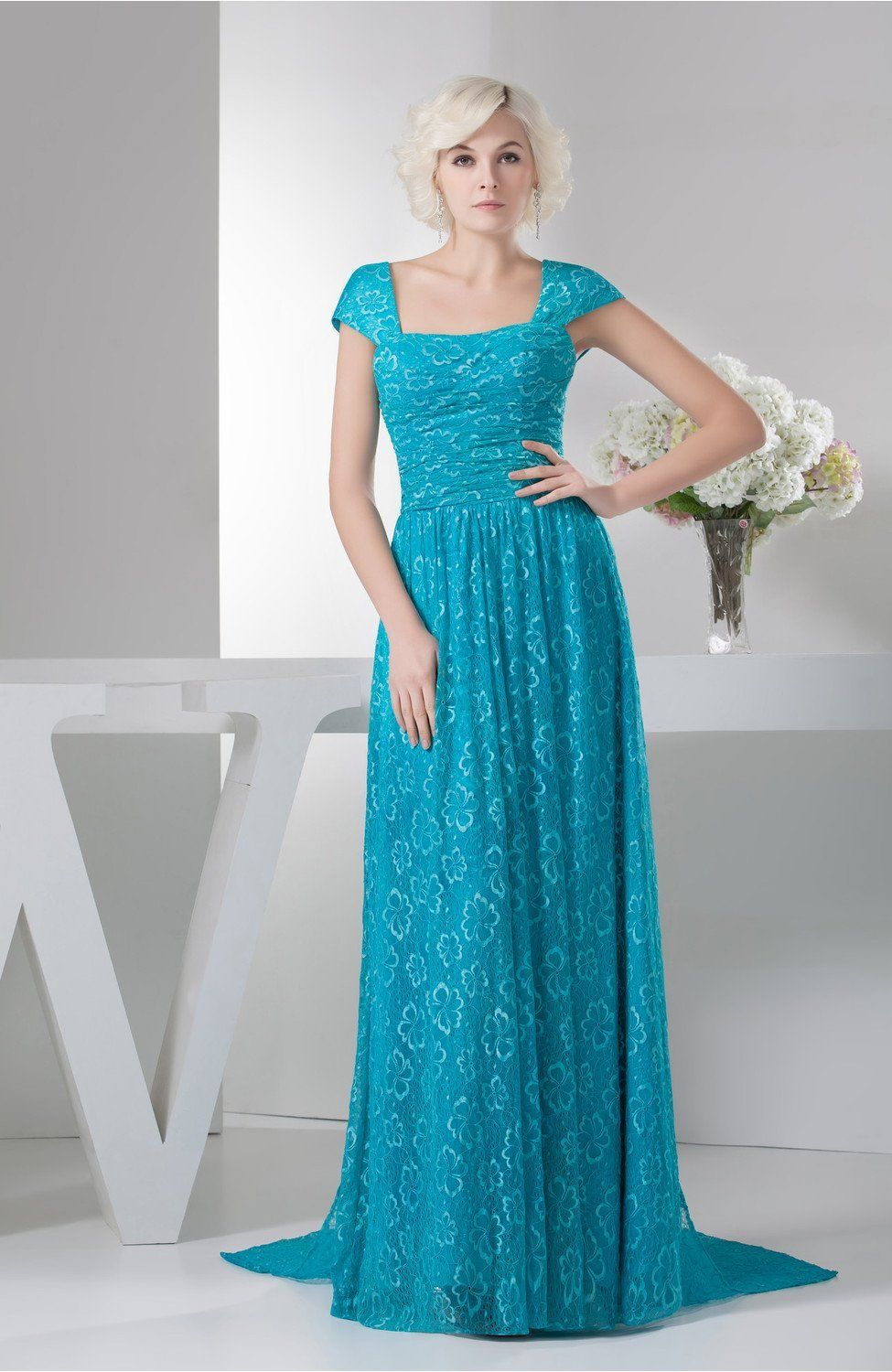 with Sleeves Evening Dress Petite Plus Size Maxi Open Back Winter ...