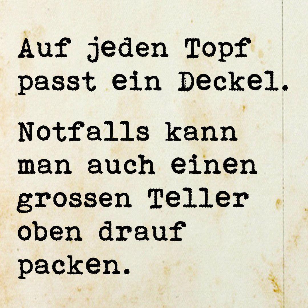 Topf und Deckel