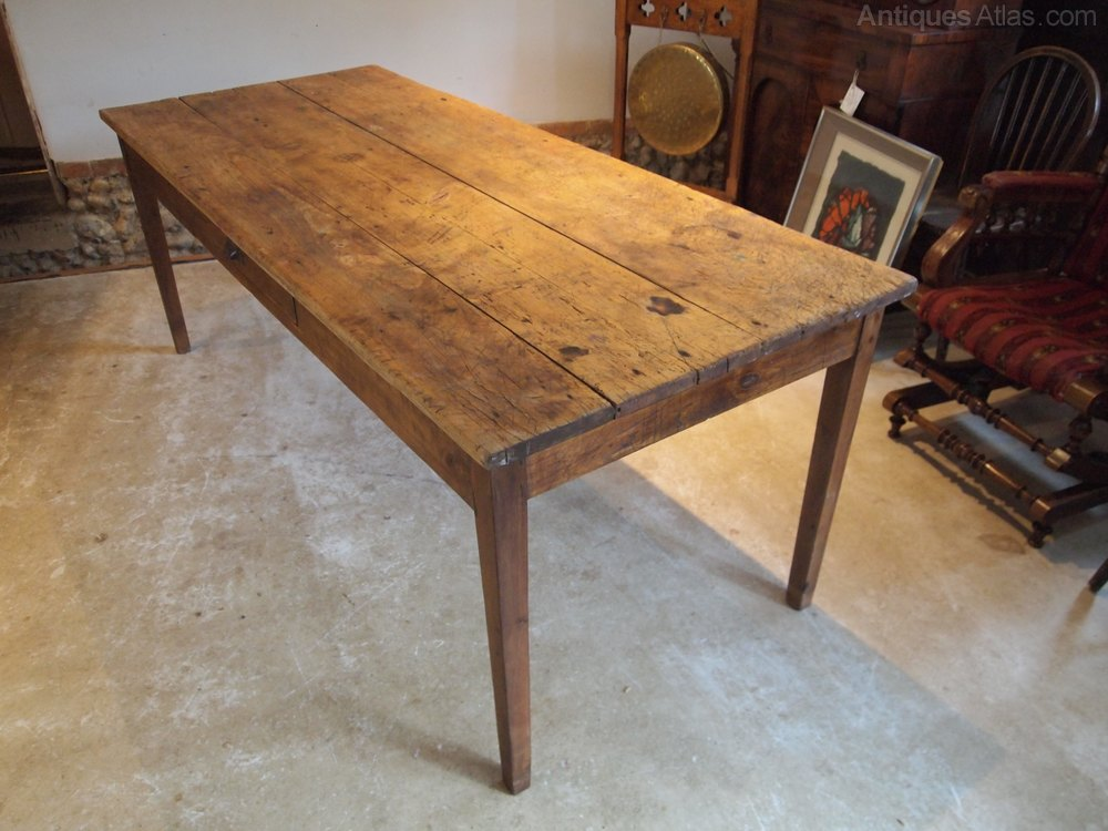 Table Victorian Refectory Farmhouse Rustic C1860 Country