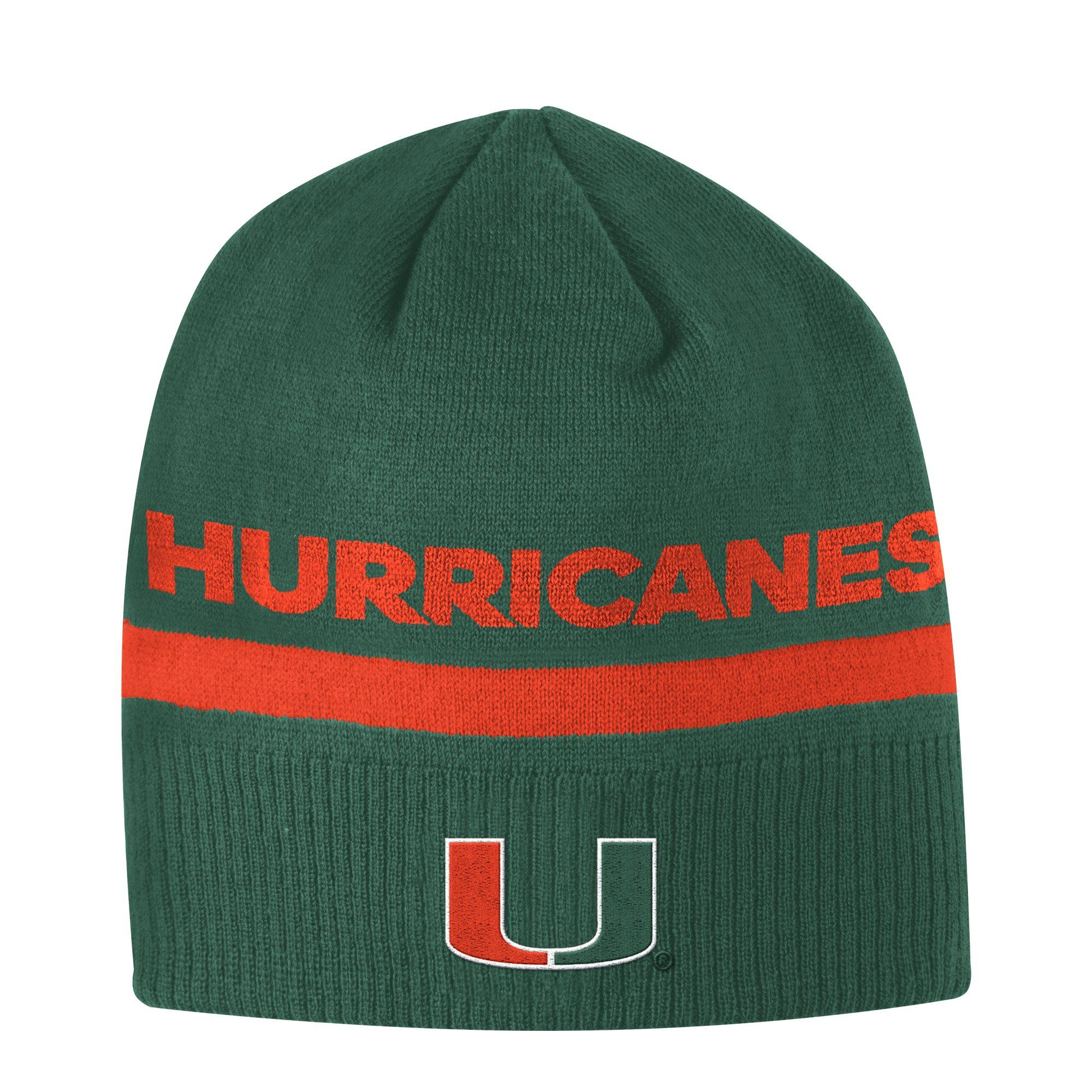 605aed39c9dae Miami Hurricanes adidas 2017 Coaches Adjustable Hat - Green ...