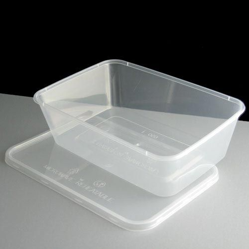 Plastic Containers Tubs Clear With Lids Microwave Food Safe Takeaway